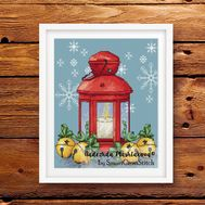 {en:Christmas cross stitch pattern Light of Hope;}