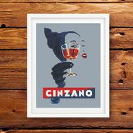 Cinzano cross stitch pattern