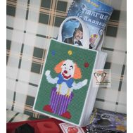 Clown Purse plastic canvas pattern}