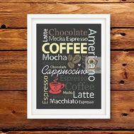 Coffee sampler funny cross stitch pattern