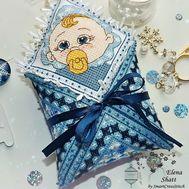 Cross Stitch pattern Baby Toy Little Boy
