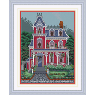 Cross stitch Blooming Home