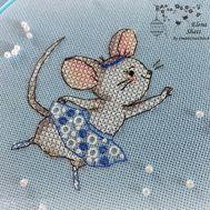 Cute Cross Stitch pattern Mademoiselle Mimi