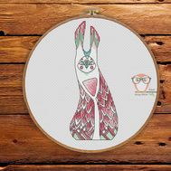 Ki - Forest Creatures Cross stitch pattern}