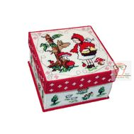 Little Red Riding Hood plastic canvas tissue box pattern}