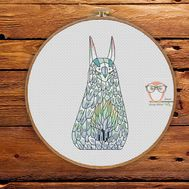Lun - Forest Creatures Cross stitch pattern}