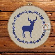 ''Scandinavian Ornament'' Christmas cross stitch pattern