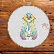 Nan - Forest Creatures Cross stitch pattern}
