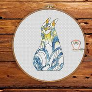 Narg - Forest Creatures Cross stitch pattern}