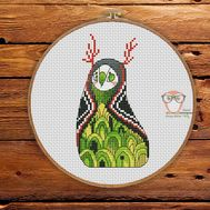 Nur - Forest Creatures Cross stitch pattern}