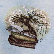 Orient Cross stitch pattern The Knowledge Tree