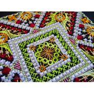 {en:Ornament cross stitch pattern Autumn;}
