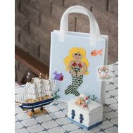 Plastic canvas purse pattern Mermaid}