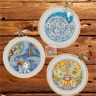 Song of the Sea cross stitch patterns - Set of 3}