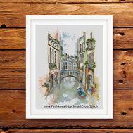 Venice Cross Stitch pattern Canals