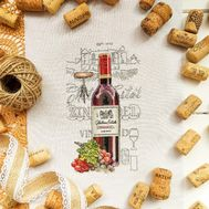 Wine Zinfandel cross Stitch pattern