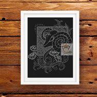 Zodiac Cross stitch pattern horoscope Aries}