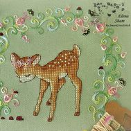 Deer Cross Stitch pattern First Steps