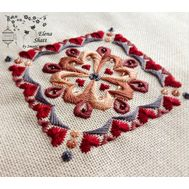 Free Ornament embroidery pattern