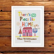 Home cross stitch pattern
