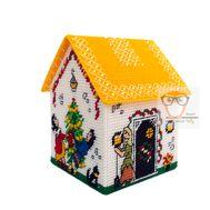 Cinderella plastic canvas house box pattern}