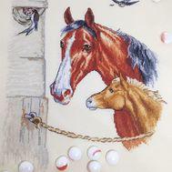Animal Cross stitch pattern Horses}