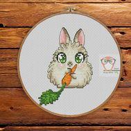 Funny cross stitch pattern Angora}