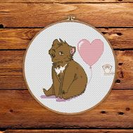Cute Bear Free cross stitch pattern
