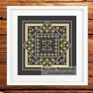 Summer Ornament cross stitch pattern