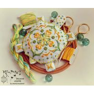 Tortoise Pincushion Embroidery Pattern