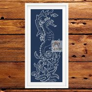 Sea Horse cross cross stitch pattern