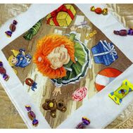 Happy Birthday cross stitch pattern