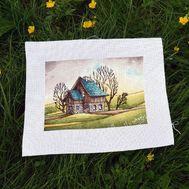 Spring Day American Style cross stitch pattern