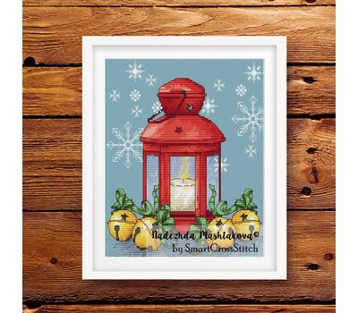 {en:Christmas cross stitch pattern Light of Hope;}