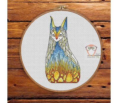 Shu - Forest Creatures Cross stitch pattern}