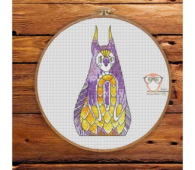 Thay - Forest Creatures Cross stitch pattern}