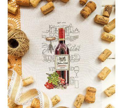 Wine Zinfandel cross Stitch pattern