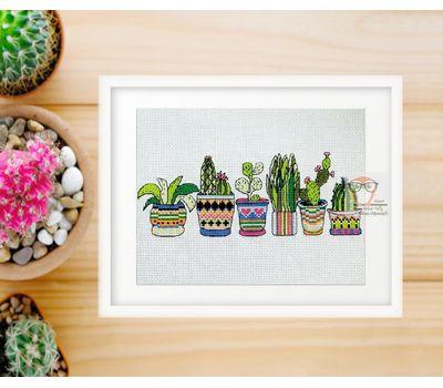 Free Cross Stitch Chart Cactuses