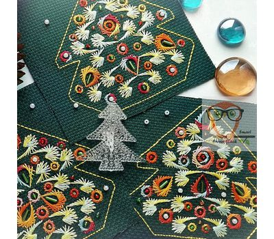 Christmas Ornaments Embroidery pattern
