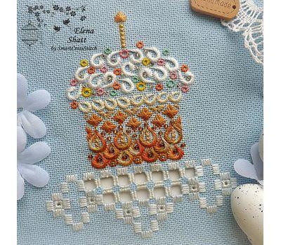 Easter Cross Stitch pattern Cake Decor