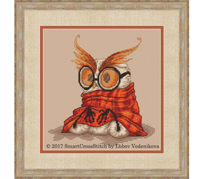 Funny Owl cross stitch Chart Morning...again?