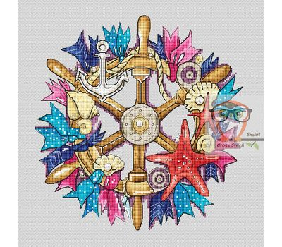 Wheel of Hope cross stitch pattern