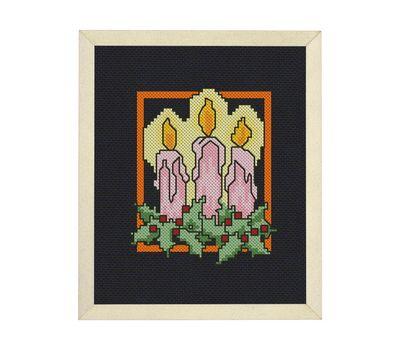 Christmas Bells cross stitch pattern example