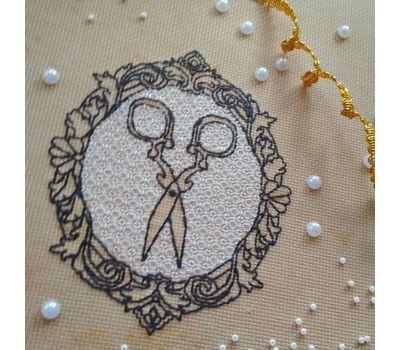 Vintage Scissors Free Cross Stitch pattern