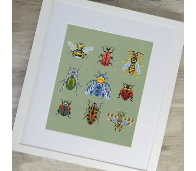 Beetles cross stitch chart pdf