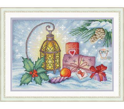Christmas Cross stitch Chart Winter Still Life