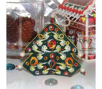 Christmas Ornaments Embroidery pattern pdf