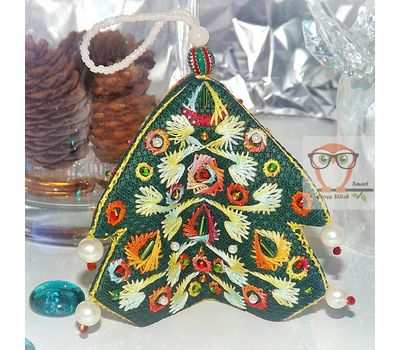 Christmas Ornaments Embroidery pattern download