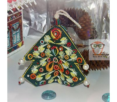 Christmas Ornaments Embroidery chart