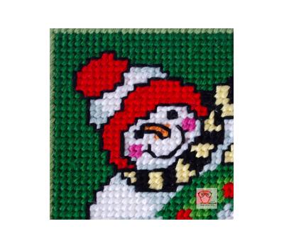 Christmas Snowman 1 plastic canvas tissue box pattern}